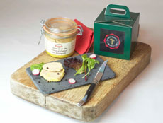 Whole duck foie gras gift
